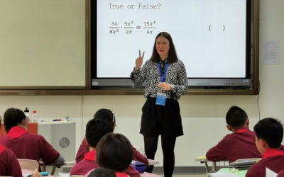England / China Exchange – Secondary Demonstration Lessons
