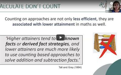 WEBINAR: Using Mathematical Tools to develop number sense